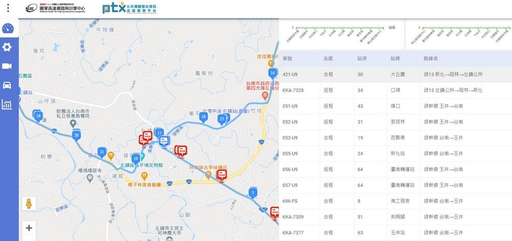 智慧運具數據蒐集分析與監理應用系統